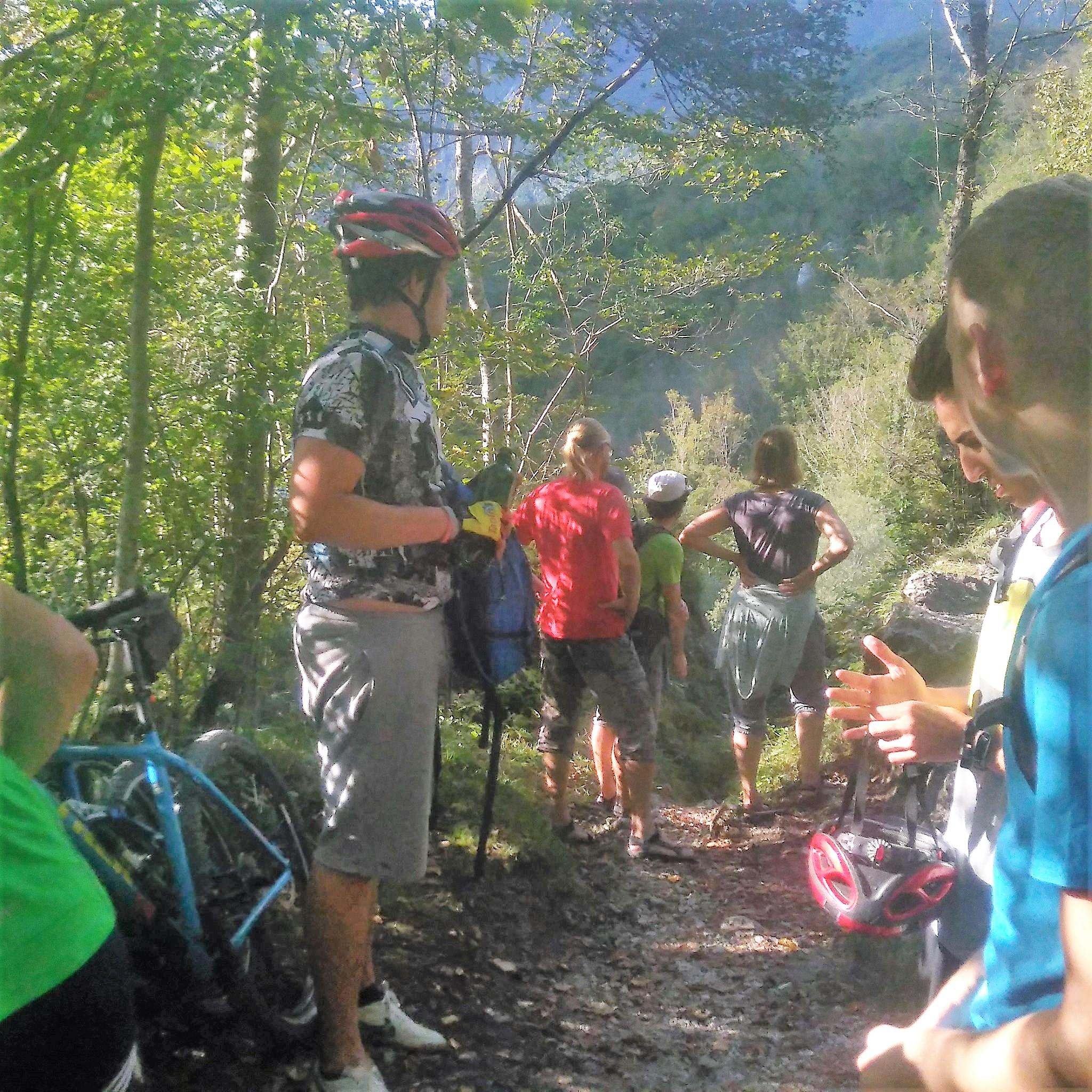 kolesarjenje ob Nadiži